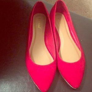 Red Velvet Flats